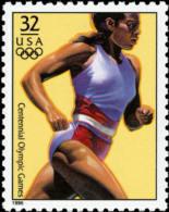 Sc#3068c 1996 USA Olympic Games Stamp- Women's Running Athletic - Summer 1996: Atlanta