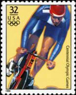 Sc#3068e 1996 USA Olympic Games Stamp- Cycling Athletic - Summer 1996: Atlanta