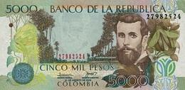 COLOMBIA 5000 PESOS 2009 P-452k UNC - Colombia