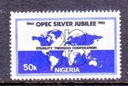 NIGERIA  472   **  OPEC  SILVER  JUBILEE - Nigeria (1961-...)