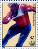 Sc#3068i 1996 USA Olympic Games Stamp-Shot Put Athletic - Summer 1996: Atlanta