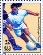 Sc#3068j 1996 USA Olympic Games Stamp-Women's Soccer Athletic - Summer 1996: Atlanta
