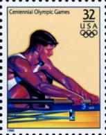 Sc#3068l 1996 USA Olympic Games Stamp-Rowing Ship Athletic - Summer 1996: Atlanta