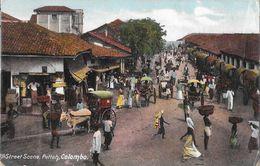 Ceylon - Colombo - Street Scene, Pettah - Sri Lanka (Ceylon)