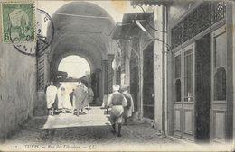 Tunis - Rue Des Libraires - Carte LL N°52 - Tunisia