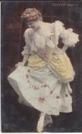 SPECTACLE--ARTISTES--OPERA  ROUVIER--début De Siècle--jeune Femme--voir 2 Scans - Opéra