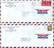 Enveloppes -  Expédiée  Des   U.S.A    à  Destination  De  MONACO     Par Avion         $ - Amérique Centrale