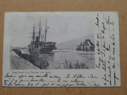 SUEZ CANAL à La Courbe D'El Guirs ( 43 ) Anno 1902 ( Zie Foto Voor Details ) !! - Panama