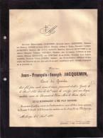 GRAIDE MICHAMPS Jean-François JACQUEMIN Curé De Graide 1847-1888 Familles FAIRON SCHUMER LUTGEN BODSON GOOSSE - Obituary Notices