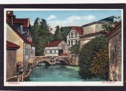 Old Card Of Am Leinekanal,Göttingen, Lower Saxony, Germany.,N38.. - Goettingen