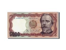 Pérou, 5000 Soles De Oro, 1985, KM:117c, 1985-06-21, SPL - Pérou