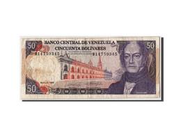 Venezuela, 50 Bolivares, 1990, KM:65c, 1990-05-31, TB - Venezuela