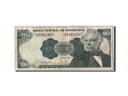Venezuela, 20 Bolivares, 1992, KM:63d, 1992-12-08, TB - Venezuela