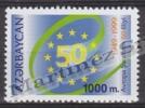 Azerbaidjan - Azerbaijan - Azerbaycan 1999 Yvert 392C, 50th Anniversary European Council - MNH - Azerbaiján