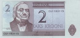 ESTONIA 2 KROONI 2006 (2007) P-85a UNC [ EE227a ] - Estonia