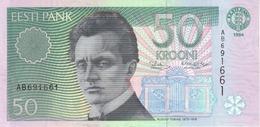 ESTONIA 50 KROONI 1994 P-85a UNC [ EE221a ] - Estonie