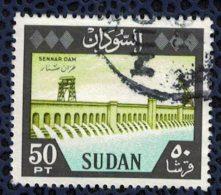 SOUDAN Oblitération Ronde Used Stamp Barrage De Sennar Dam - Soudan (1954-...)