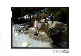 44 - CARQUEFOU - A La Découverte De Nantes Métropole à Vélo En 2008 - - Carquefou