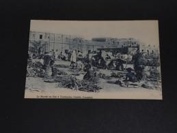 SOUDAN - Carte Postale De Tambouctou , Marché Au Bois Début De Siècle - A Voir - L 554 - Sudán
