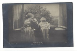 14897 -  Brunkal Schöne Aussicht  Femme Et Enfant Regardant Par La Fenêtre En 1920 - Autres
