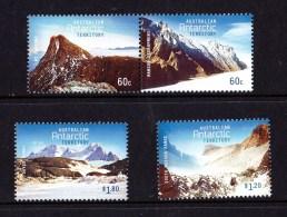 Australian Antarctic 2013 Mountains Set Of 4 MNH - Australian Antarctic Territory (AAT)