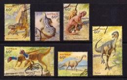 Australia 2013 Dinosaurs Set Of 6 Used - Used Stamps
