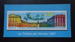 FRANCE Carte Postale LE TIMBRE DE L'ANNEE 1997 Poste Versailles Congrès Fédération Française Associations Philatéliques - Unclassified
