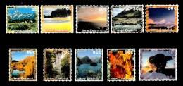 New Zealand 1995 - Scenery 10 Values MNH - New Zealand