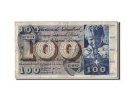 Suisse, 100 Franken, 1956, KM:49a, 1956-10-25, TB - Suiza