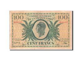 Réunion, 100 Francs, 1944, KM:37a - Reunion