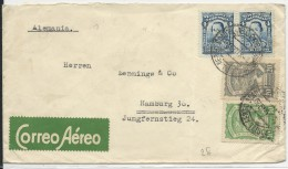 "COLOMBIA - 1926 - ENVELOPPE POSTE AERIENNE ""SCADTA"" (RARE) De BOGOTA Pour HAMBURG (GERMANY) - Colombia"