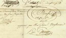 28e DEMI-BRIGADE D'INFANTERIE LEGERE - Generaux PRAEFKE (+Albuhera 1811) + GASNIER (1756-1827) Moriac Nice - Documents Historiques