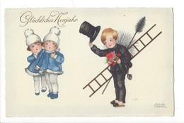 14901 - Glückliches Neujahr Ramoneur Et Enfants HWB 3841 - Petersen, Hannes