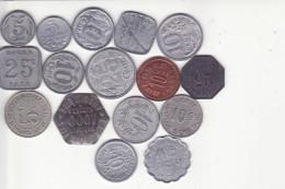 France - Monnaie De Nécessité - Très Beau Lot - MN 1 - Variétés Et Curiosités