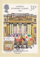 Great Britain 1984 London Economic Summit 1v Maxicard (30820) - Maximumkaarten