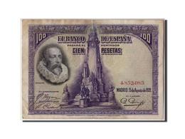 Espagne, 100 Pesetas, 1928, KM:76a, 1928-08-15, TB - [ 1] …-1931 : Premiers Billets (Banco De España)