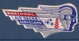 Etats Unis - Vignette Air Races Cleveland 1931 - Neuf * - TB - Cinderellas