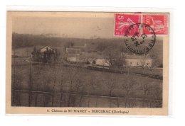 BERGERAC : Château De St-Mamet - Très Bon état - Bergerac