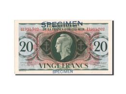 Guadeloupe, 20 Francs, 2.2.1944, SPECIMEN, KM:28s - Billets
