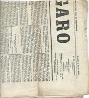 """1er Page De """"le Figaro"""" N°193 ET 194 , 12 Et 13 /06/1879, Mort Du Prince Imperial ( Napoléon 4) Mald20 - Historical Documents"""