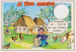 Divers   H93         ( Trimault )   Trou Normand. L'important ... Hic ... C'est De Ne Pas Tomber Dedans - Autres Illustrateurs