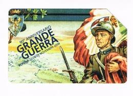 TELECOM ITALIA -  C.&C.  F4582 - 111^ VERONAFIL 2008: LA GRANDE GUERRA  -   USATA  (RIF. CP) - Pubbliche Speciali O Commemorative