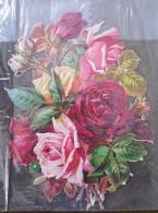 Grand Découpis - Bouquet De Roses (2) - Fleurs