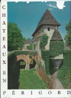 JEAN SECRET -Chateaux En Périgord  ( Jaquette Abimée = Voir Scan ) Editions J. Delmas (Illustrations YUREK) - Aquitaine