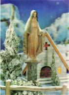 Religions & Beliefs > Christianity> Virgen Mary & Madonnas.3D Stereo Card - Vergine Maria E Madonne