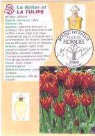 12 Cartes Signes Zodiacaux Et Fleurs (Bourg En Bresse Floralies 2000) - Astrologie
