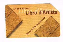 TELECOM ITALIA -  C.&C.  F4578 - CARTACANTA 2008: LIBRO D' ARTISTA   -   USATA  (RIF. CP) - Italia