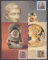 Berlin 1984 Kunstschätze In Berliner Museen 4v Maxicards (30833) - [5] Berlijn