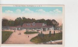RAILROAD STATION / HUNTINGTON - N.Y. - Long Island