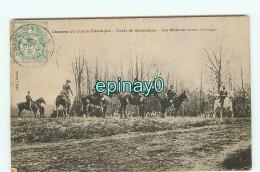 Br - 28 - Chasse Du Comte D' Andigne - Forêt De Senonches - Les Maitres Avant L'attaque - Chasse à Courre - RARE VISUEL - France